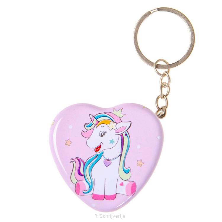 Sleutelhanger Hart Eenhoorn