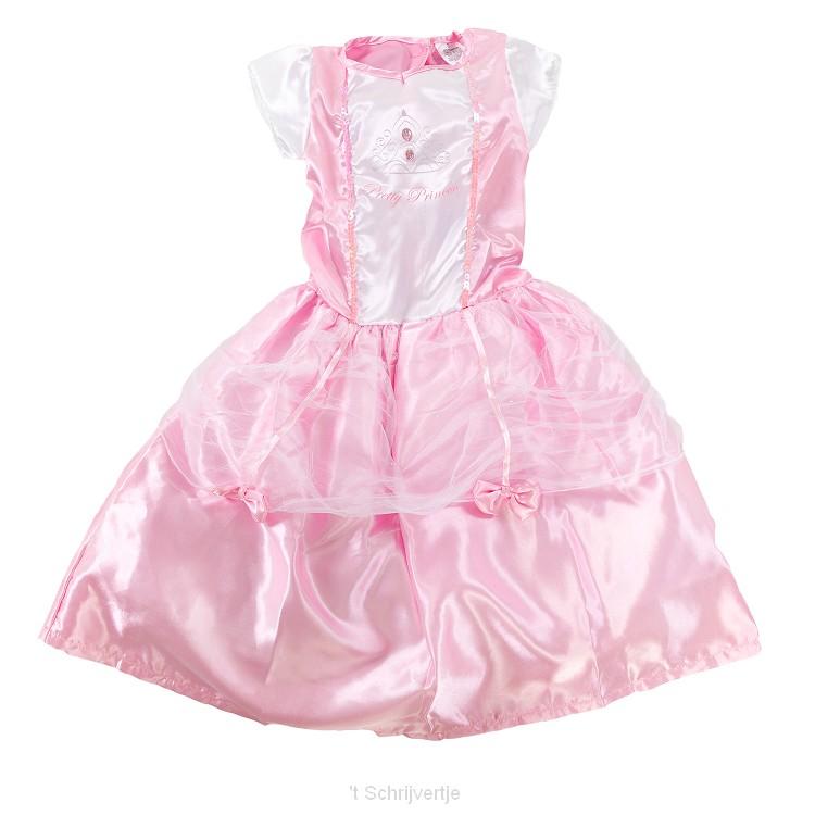 Verkleedset Prinses - 7-8 jaar