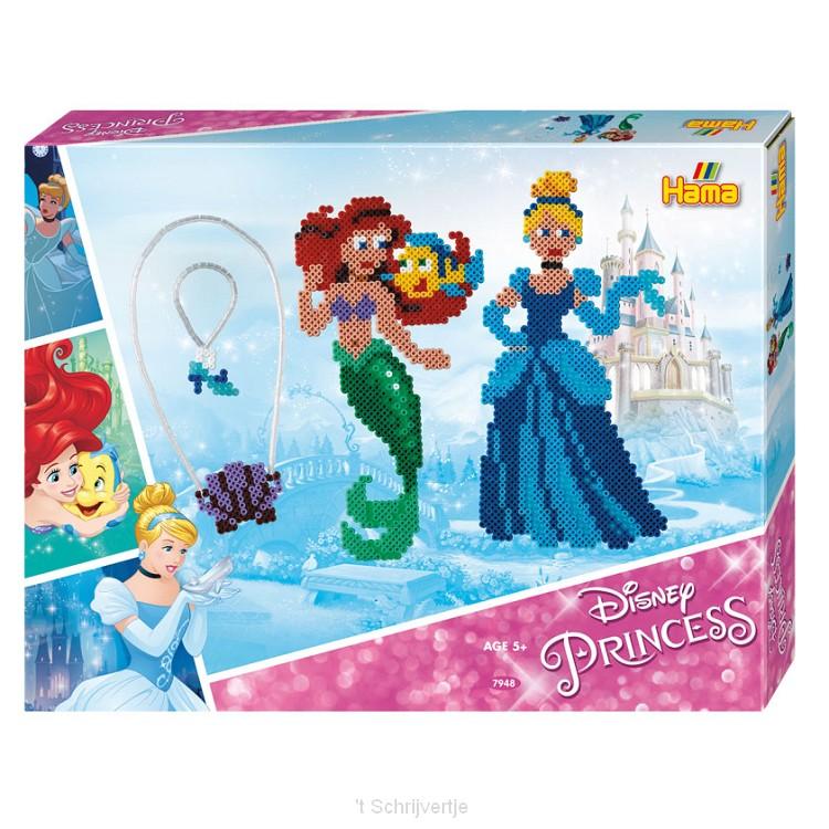 Hama Strijkkralenset - Disney Prinses, 4000st.