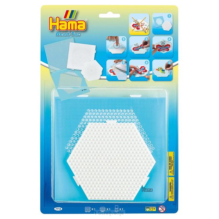 Hama Bead-Tac Strijkkralenbordjes, 2st.