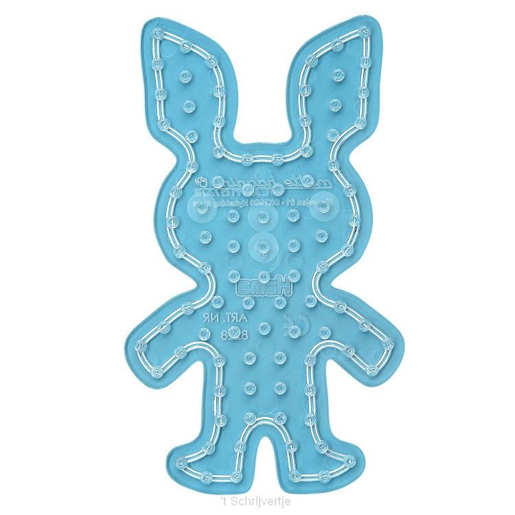 Hama Strijkkralenbordje Maxi - Konijn