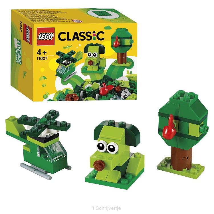 LEGO Classic 11007 Creatieve Groene Stenen