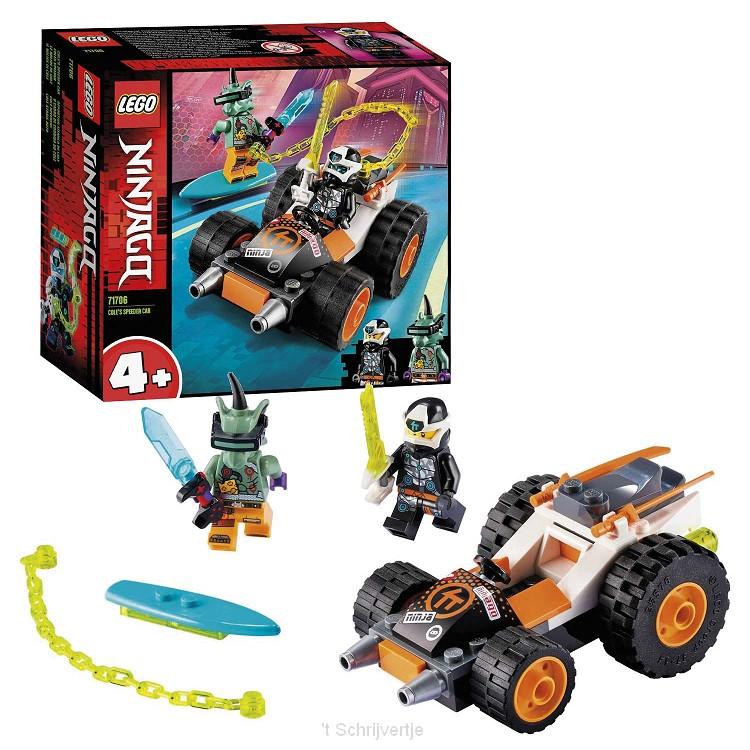 LEGO Ninjago 71706 Cole's Speederwagen