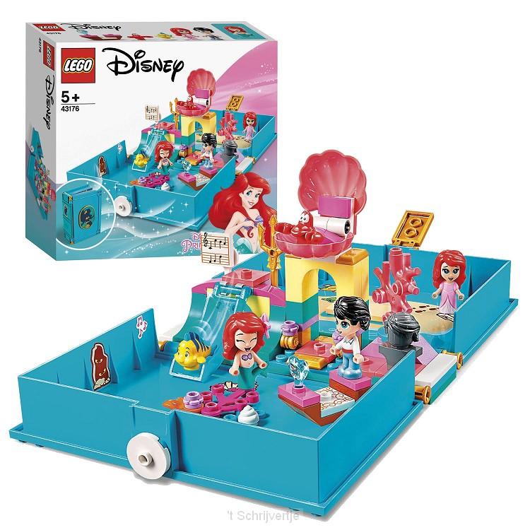 LEGO Disney Princess 43176 Ariels Verhalenboek Avonturen