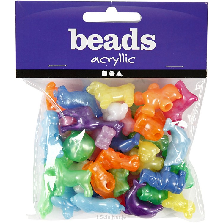 Figuur Kralen Dieren, 125ml