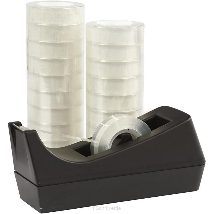 Plakbandhouder, B: 15 mm, 1 set
