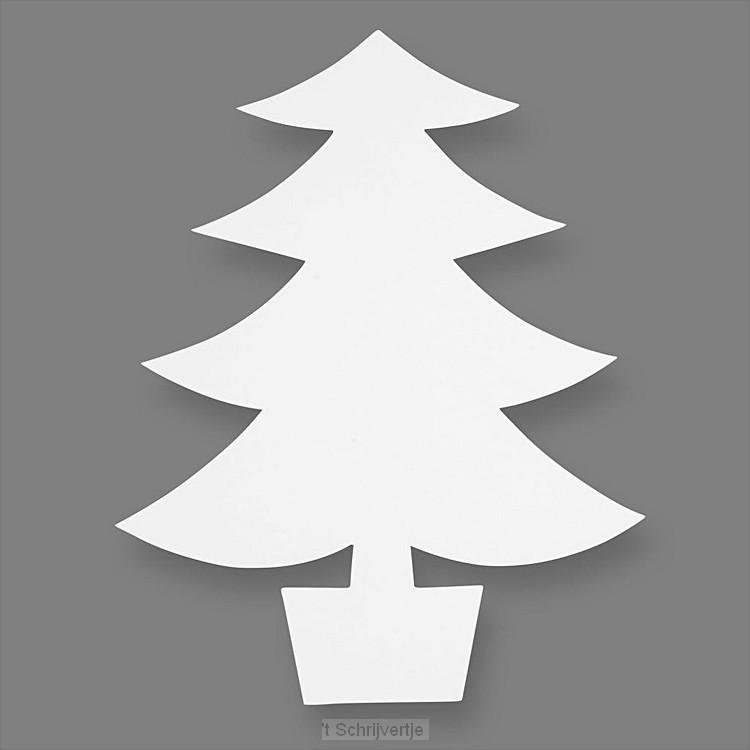 Knutsel Kerstbomen, 25st.