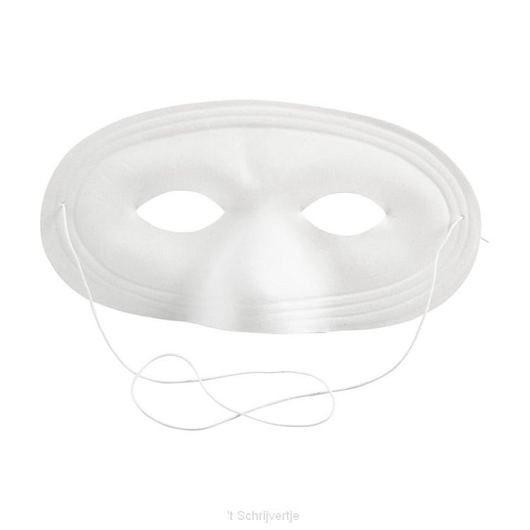 Kunststof Masker, 1st.