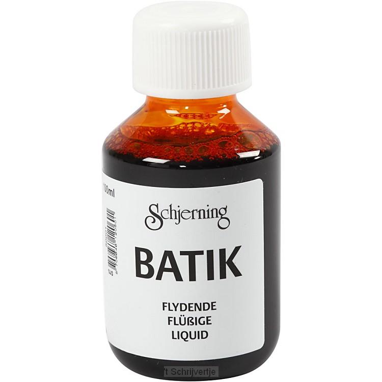 Batikverf Oranje Geel, 100ml