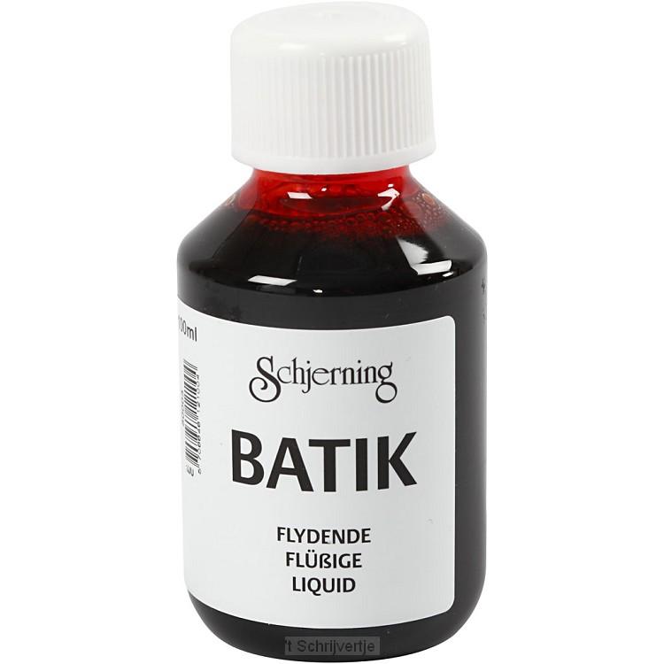 Batikverf Oranje, 100ml