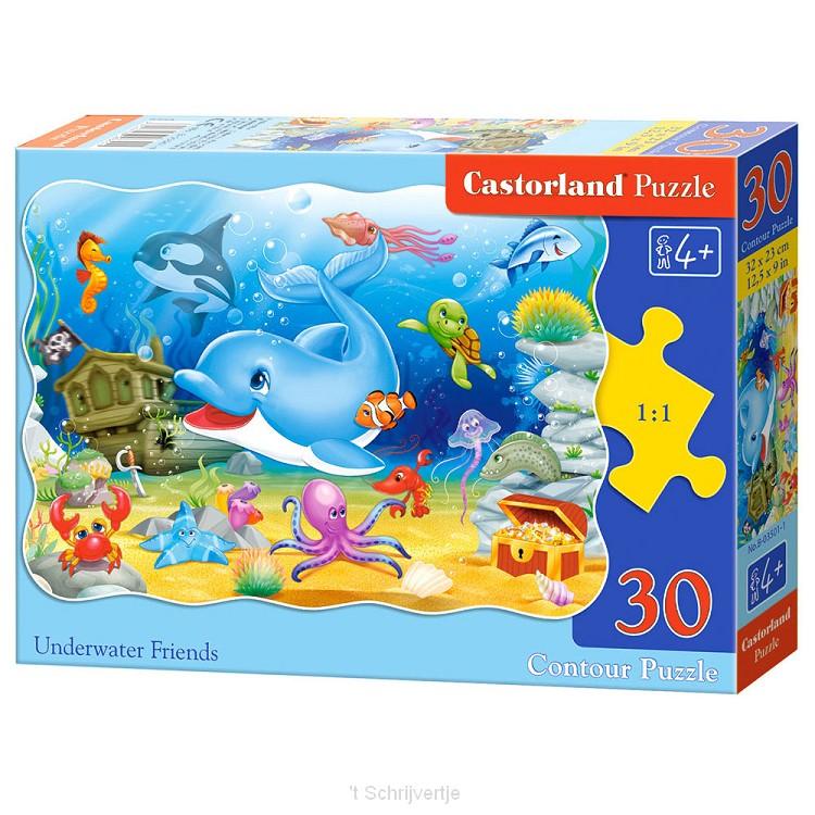 Puzzel Onderwatervrienden, 30st.