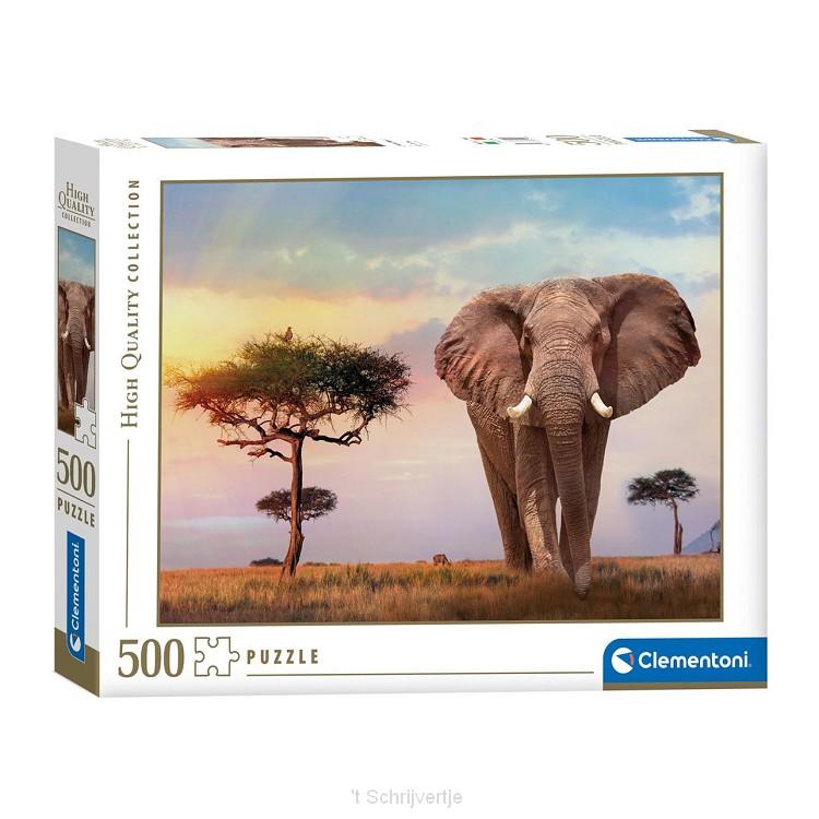 Clementoni Puzzel Afrikaanse Zonsopgang, 500st.