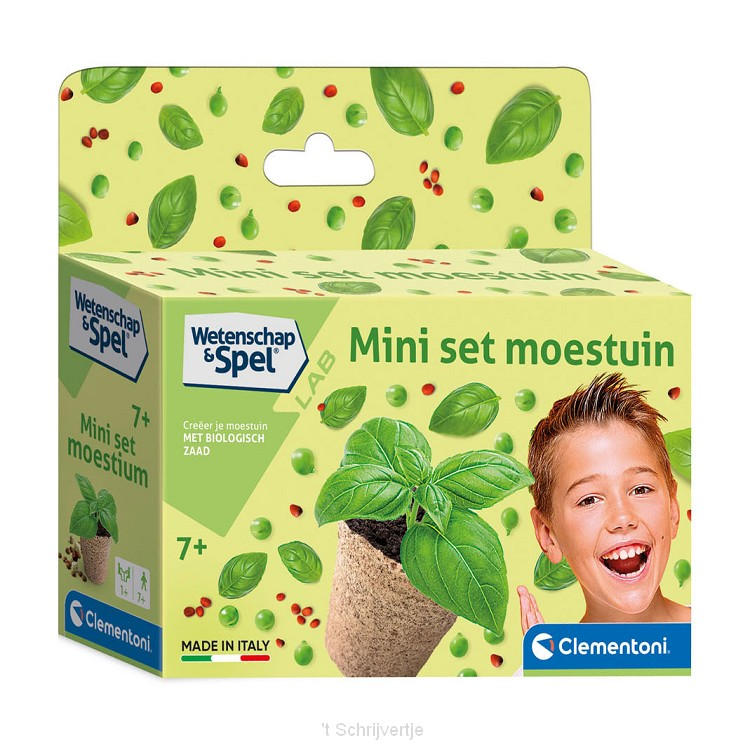 Clementoni Wetenschap & Spel Mini Set - Moestuin