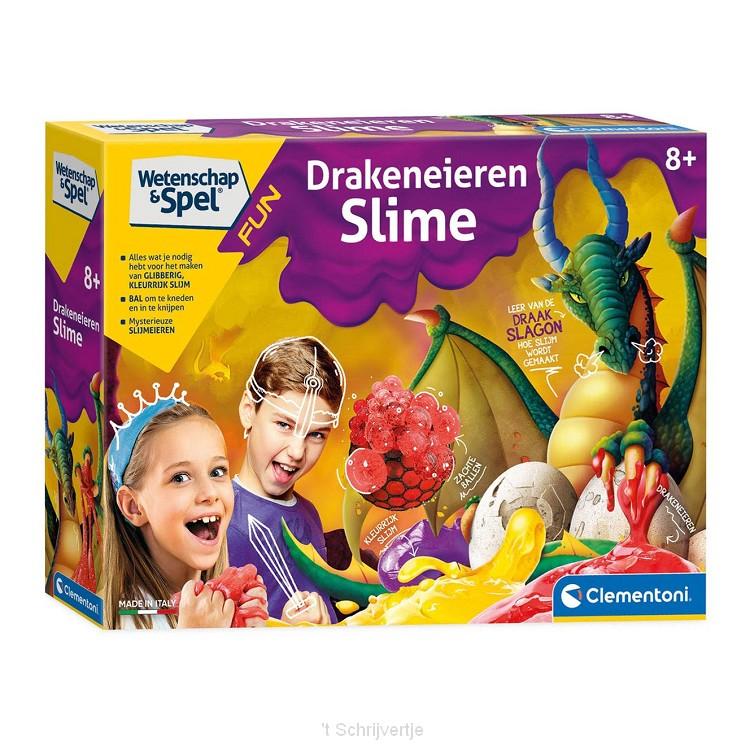 Clementoni Wetenschap & Spel - Drakeneieren Slijm