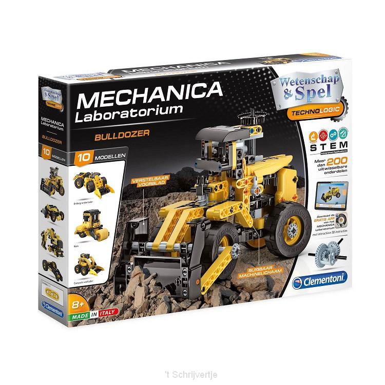 Clementoni Wetenschap & Spel Mechanica - Bulldozer