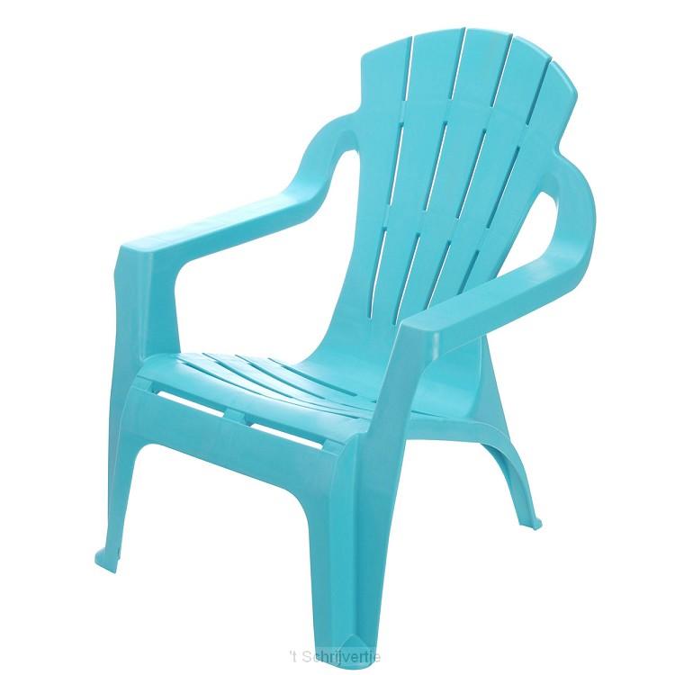 Blauwe Kinderstoel