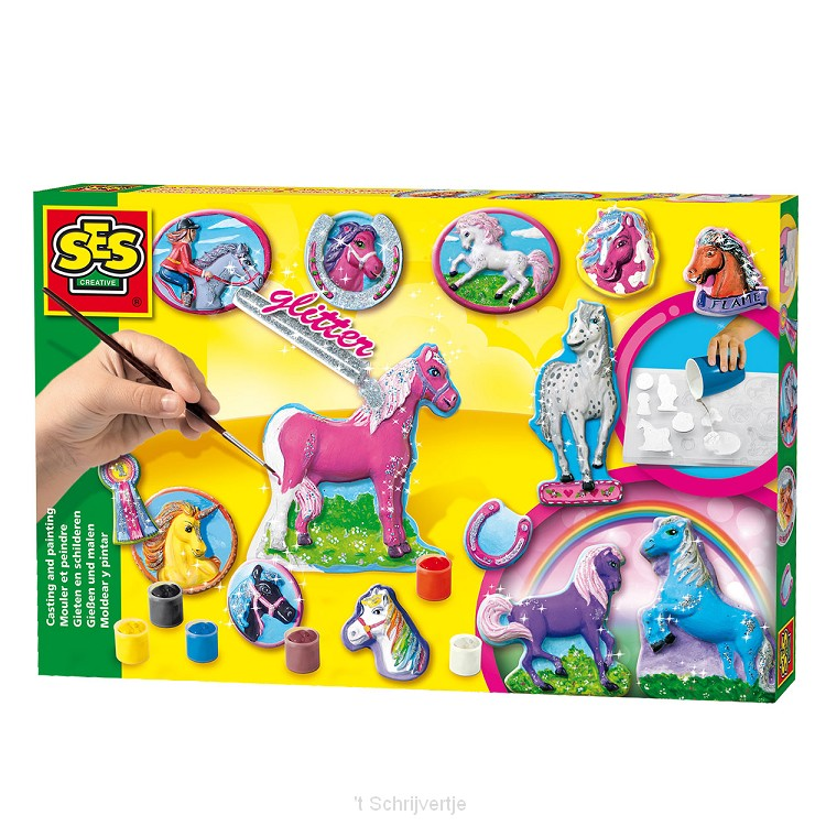 SES Gips Gieten en Schilderen - Paarden