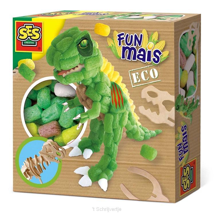 SES Funmais Dino met Houten Skelet