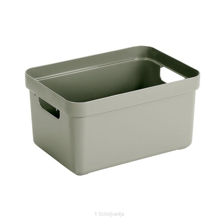 Sunware Sigma Home Box Lichtgroen, 13 liter