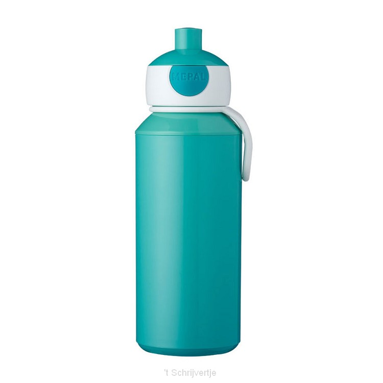 Mepal Campus Drinkfles Pop-up - Turquoise