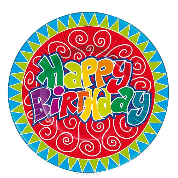 Borden Happy Birthday, 8st.