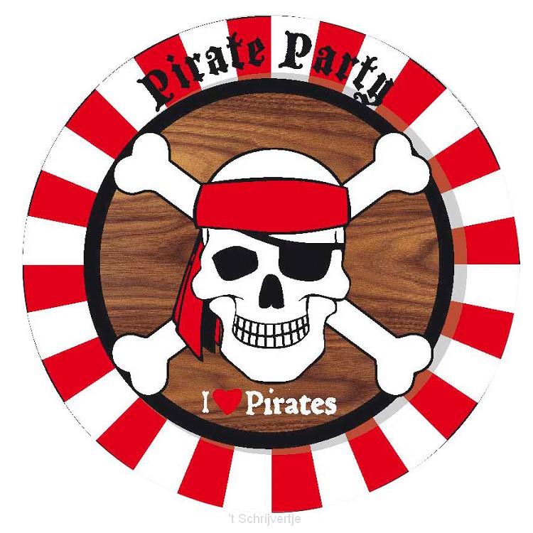 Borden Piraten, 8st.