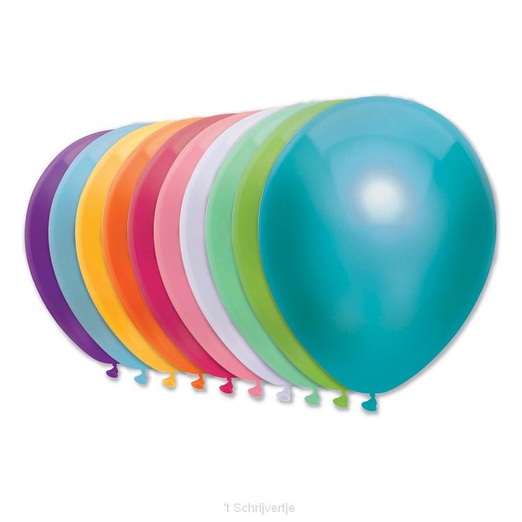 Ballonnen Neon, 10st.