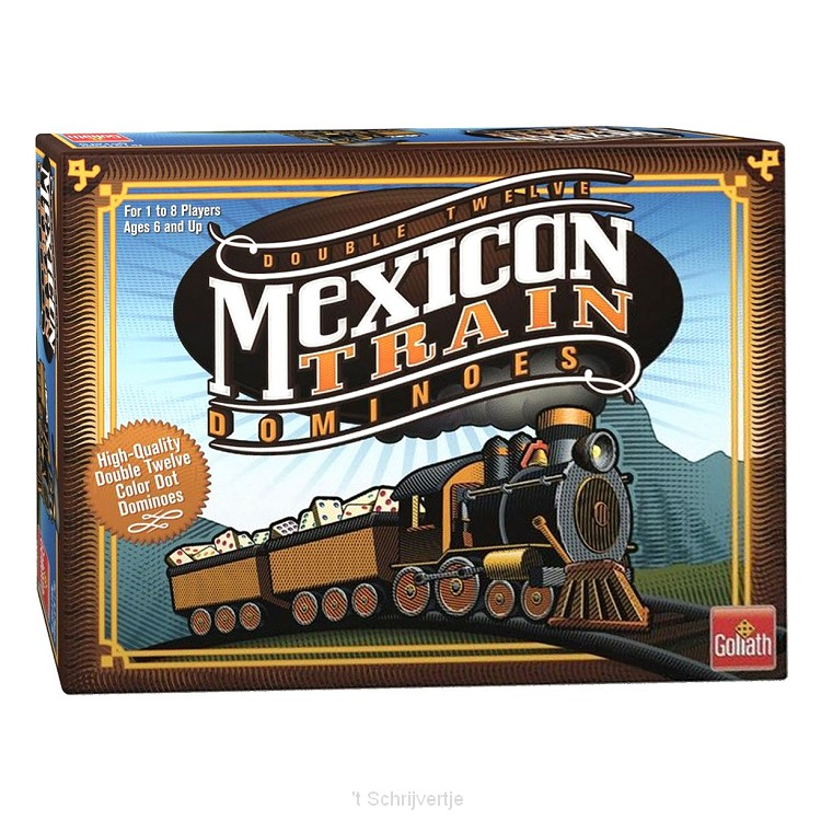 Mexican Train Domino Spel