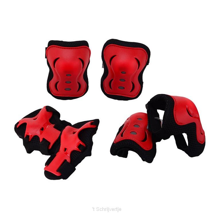Sports Active Beschermset Rood, maat S