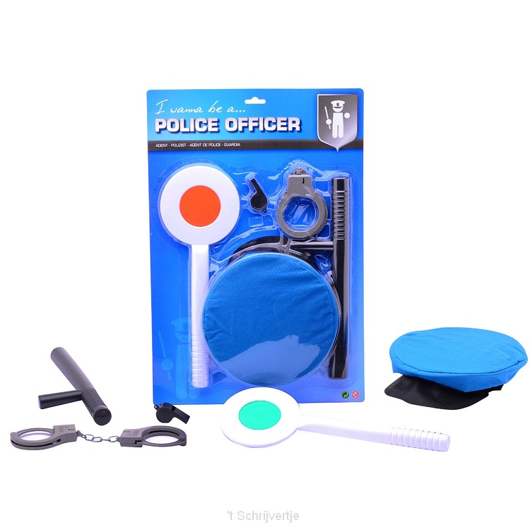 Politiespeelset op Kaart