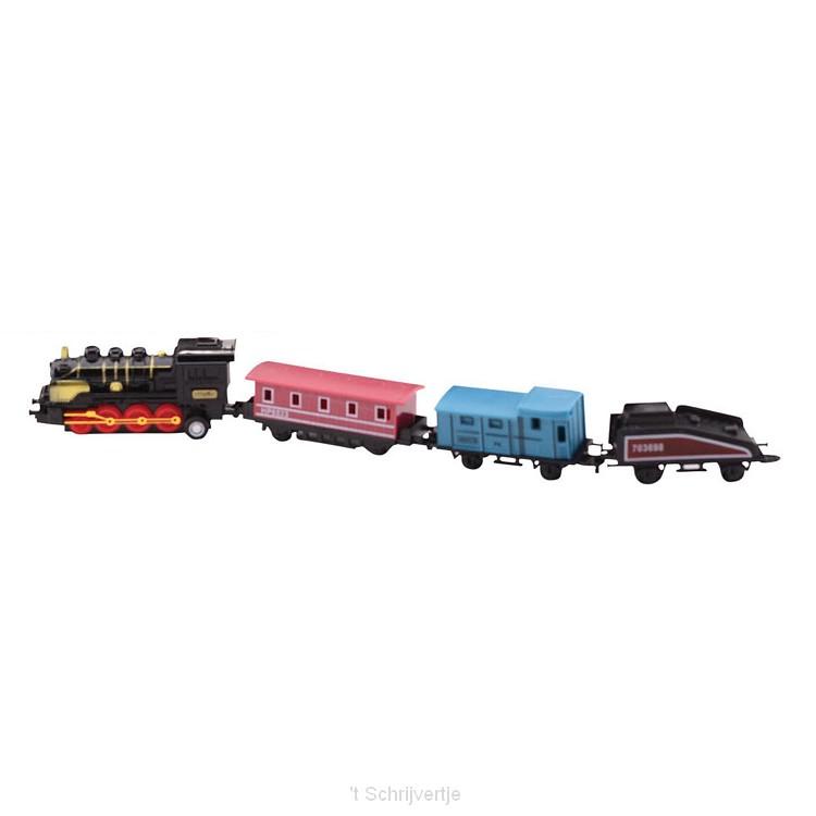 Die-Cast Pullback Locomotief