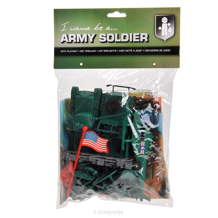 Army Forces Speelset met Speelmat