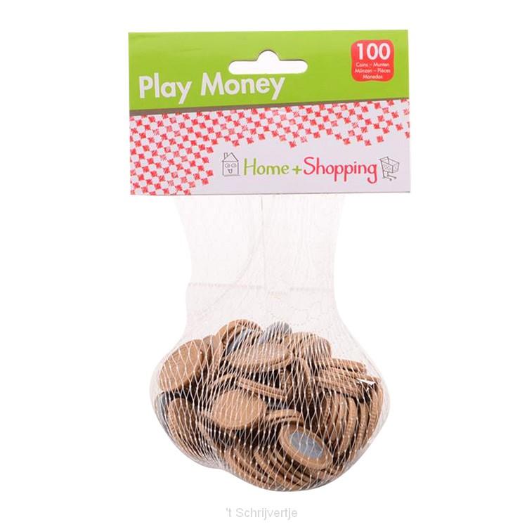 Home & Shopping Speelgeld, 100 munten in net
