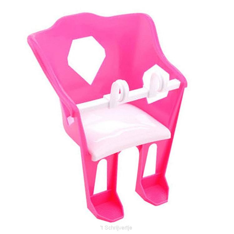 Baby Rose Poppen Fietsstoeltje