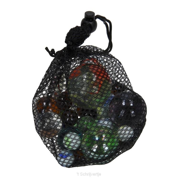 Knikkers in Net, 500gr.