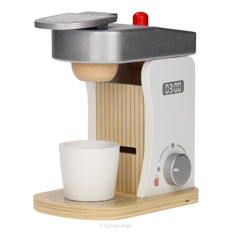 JouTco Houten Koffiezetapparaat met Accessoires