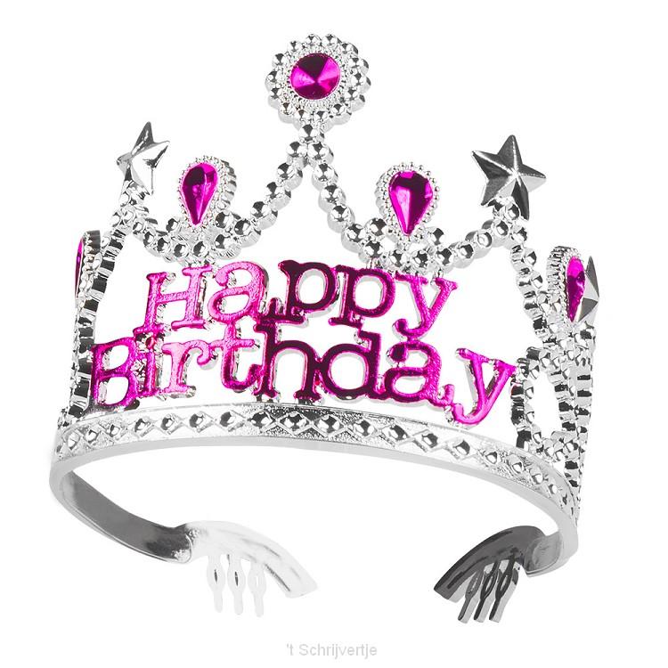 Kroontje Happy Birthday