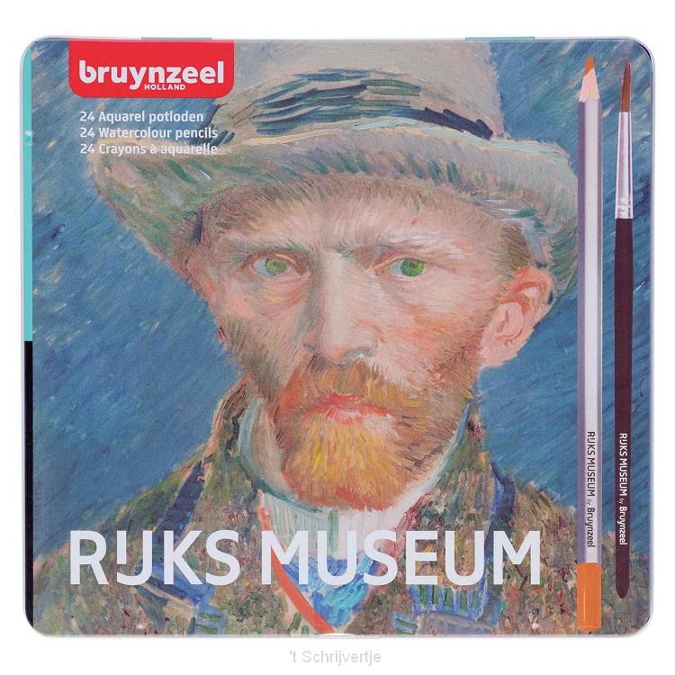 Bruynzeel Rijksmuseum Aquarelpotloden, 24st.