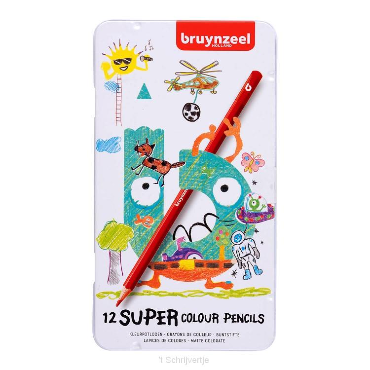 Bruynzeel Super Kleurpotloden, 12st.
