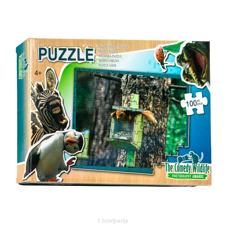 Comedy Wildlife Puzzel, 100st.