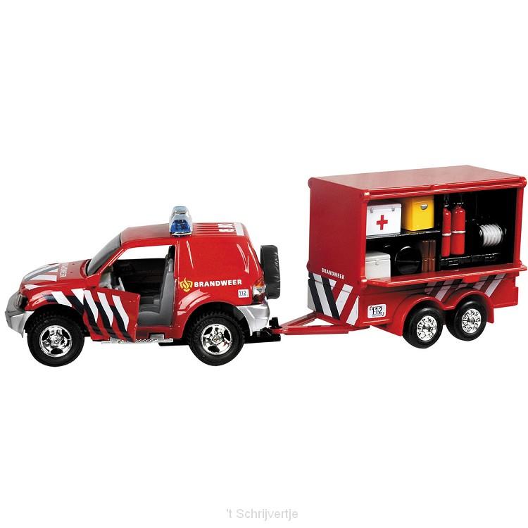 Brandweerwagen + Aanhanger