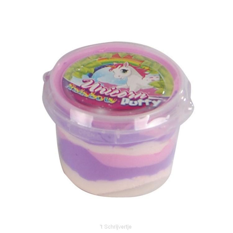 Stuiter Putty Regenboog Eenhoorn, 110gr.