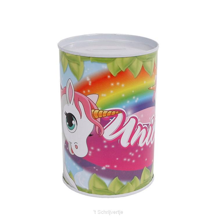 Spaarpot Eenhoorn Metaal