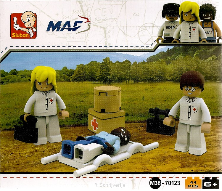 Brick'm Artsenteam en patient