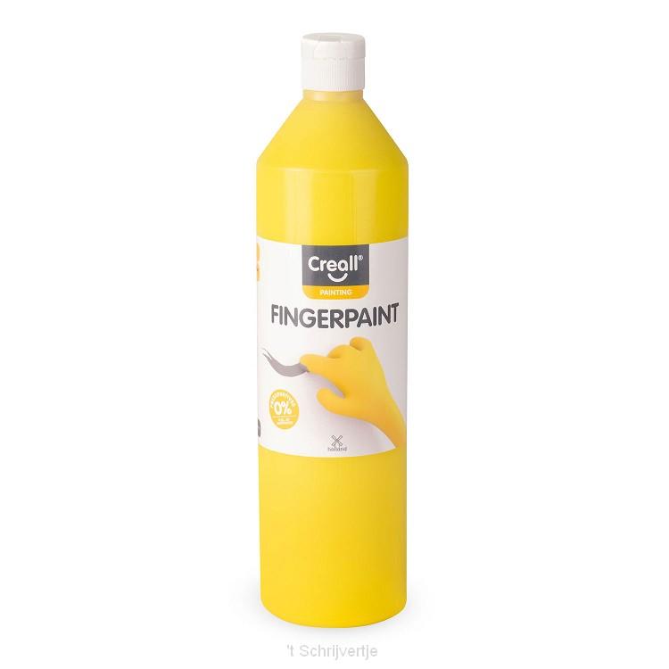 Creall Vingerverf Conserveringsvrij Geel, 750ml