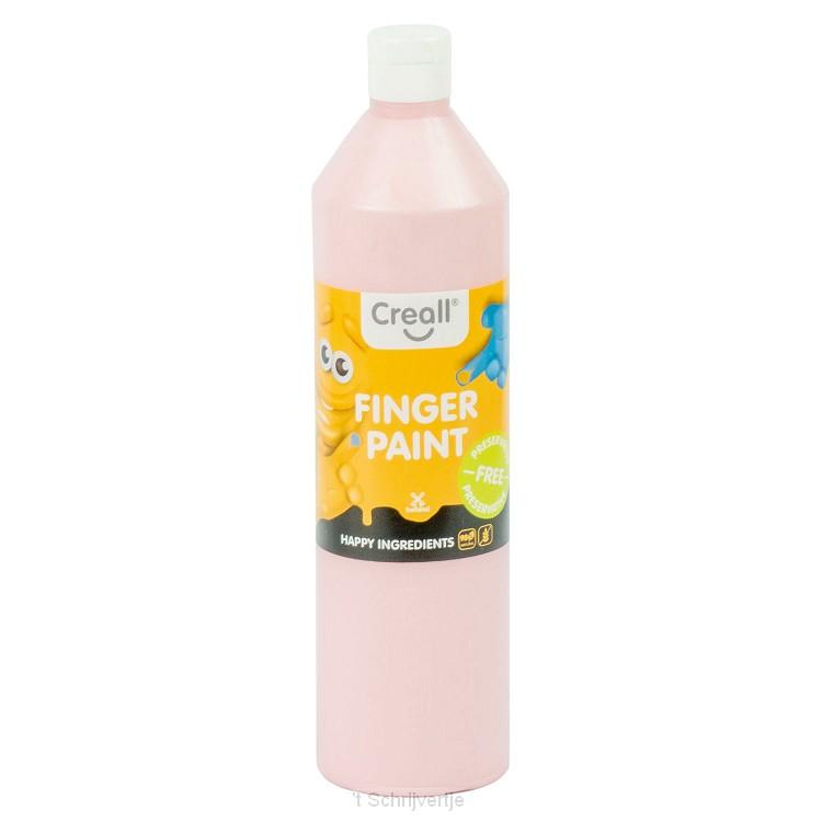 Creall Vingerverf Conserveringsvrij Roze, 750ml