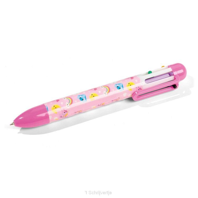 Totum Eenhoorn - Meerkleurenpen