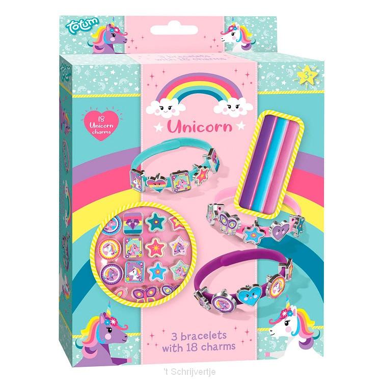 Totum Eenhoorn - Armbandjes met Bedels