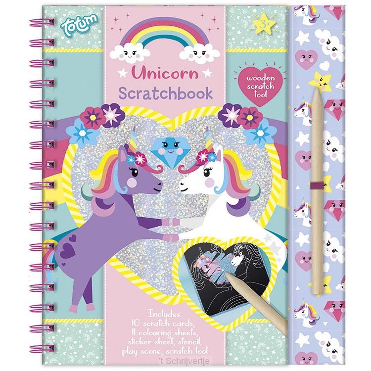 Totum Eenhoorn - Scratchboek