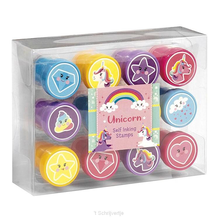 Totum Eenhoorn - Stempelset